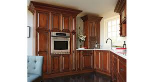 Cherry Glaze Cabinets Kitchen Cabinets Kitchen Cabinetry Mid Continent Cabinetry