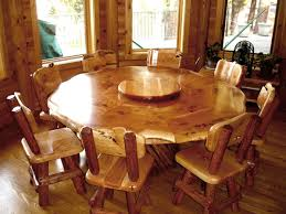 round table with lazy susan built in round dining table lazy susan built buy furniture of america