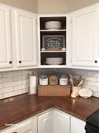 how to decorate a rustic kitchen farmhouse decor on a budget decorating above kitchen