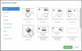 dessin de bureau plan de maison et plan d appartement gratuit logiciel archifacile