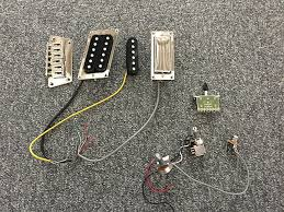 epiphone nighthawk assembly incl pickups pots switch reverb