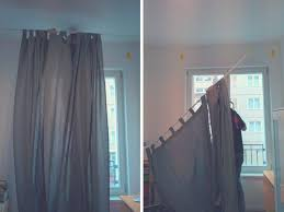 Curtains Without Rods Hang Curtains Without Drilling Put Curtains Pole Curtain Rods