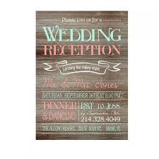 wedding reception only invitations wedding reception only invitations lake side corrals