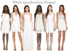 all white graduation dresses white graduation dresses i believe in pink