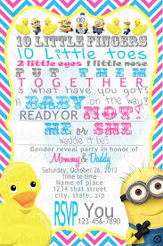 minions baby shower templates free minion baby shower invitations in conjunction