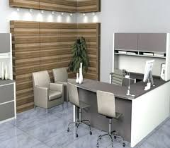 desk modern design 4 seat office table with partition commercial