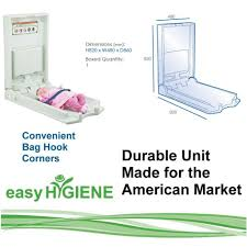Baby Changing Wall Mounted Unit Wall Mounted Baby Change Changing Station Vertical Easy Hygiene