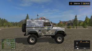 defender land rover 2017 land rover defender 90 v1 for fs 17 farming simulator 2017 fs ls mod