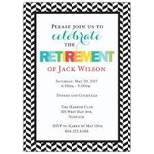 retirement invitations modern colorful retirement party invitations paperstyle