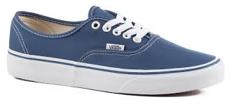 vans authentic skate shoes navy free shipping