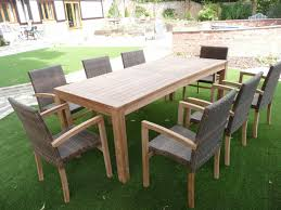 Rattan Patio Furniture Sets by Cannes 8 Seater Teak U0026 Rattan Patio Set Humber Imports