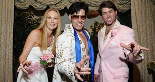las vegas elvis weddings elvis theme wedding packages - Elvis Wedding In Vegas