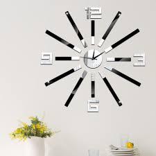 Grosse Pendule Murale by Online Get Cheap Horloge Murale Simple Autocollant Aliexpress Com