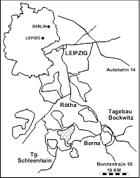 map of leipzig generalized locality map of the weißelster basin south of leipzig