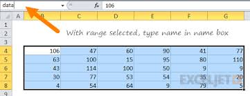 20 tips for named ranges in excel exceljet