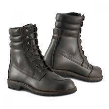 comfortable motorcycle riding boots motorcycle boots brown waterproof comfortable style martin italy