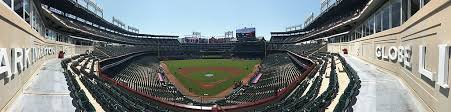 How To Build A Baseball Field In Your Backyard Globe Life Park In Arlington Wikipedia