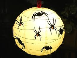 how to decorate paper lanterns for halloween diy