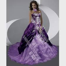purple and orange wedding dress purple and white corset wedding dresses naf dresses