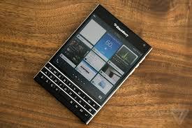 blackberry passport review the verge