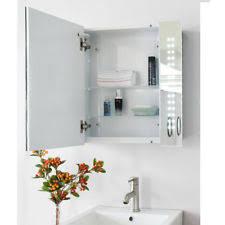 Led Illuminated Bathroom Mirror Cabinet by Illuminated Bathroom Mirror Cabinet Ebay