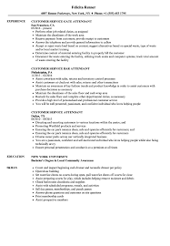 beginning resume customer service attendant resume samples velvet jobs
