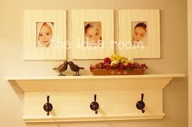 Bathroom Shelves With Towel Rack Diy New Bathroom Shelf With Towel Hooks The Idea Room