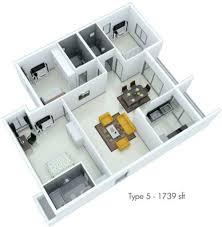 1739 sq ft 3 bhk 3t apartment for sale in fortius waterscape kr