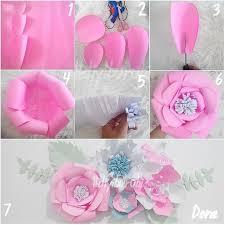 cara membuat bunga dengan kertas hias ide dan cara membuat hiasan dinding berbentuk bunga dari kertas