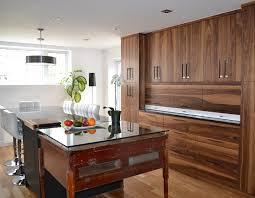 cuisine blanc et noyer ébénistes meubles uniques sur mesures créations ébène nappierville