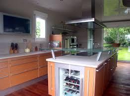 cuisine ilot central cuisson table ilot cuisine ilot central cuisson hotte cave vin plus moderne