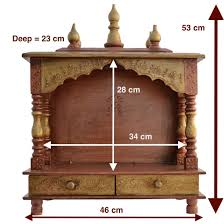 Mandir Decoration At Home Buy Home Temple Mandap Wooden Temple Pooja Temple With Led