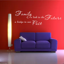 family past future wall art sticker lounge quote decal transfer copyright wall smart designs ltd 2011 present