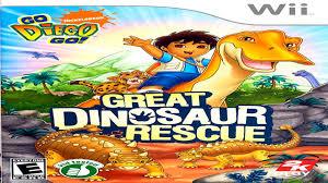 diego u0027s dinosaur rescue hd adventure alicia wii