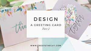 how to design a greeting card in photoshop adding artwork part