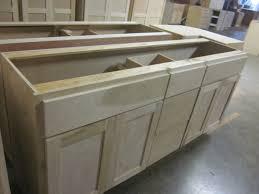 solid wood kitchen base cabinets 72 x 21 inch shaker style poplar bathroom vanity bowl drawer sink base