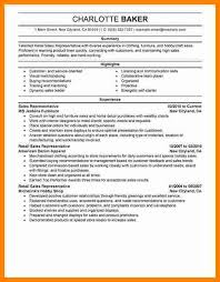 retail sales representative resume hitecauto us