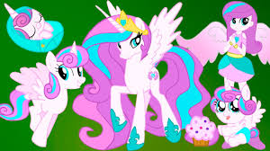 flurry heart from baby toon princess to equestria girls my little