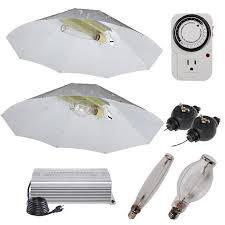 1000 watt hps light 1000 watt mh hps grow light electronic ballast umbrella reflector