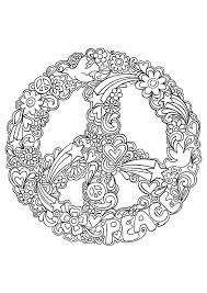 peace mandala coloring pages coloring