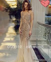 champagne open back prom dress great ideas for fashion dresses 2017