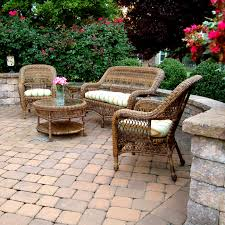 All Weather Wicker Patio Furniture Sets Sanibel All Weather Wicker Patio Dining And Seating Furniture By