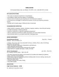 resume examples templates housekeeping resume cleaning sample templates job description housekeeper resume tips and examples raw resume with regard to housekeeping resume examples