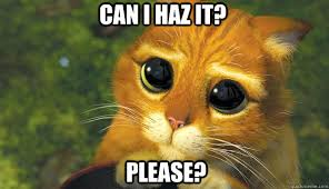 Can I Meme - can i haz it please puss in boots eyes quickmeme