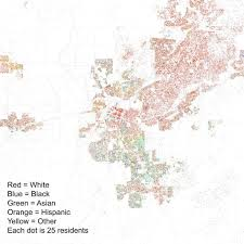 Csus Map Map Of Racial Demographics Of Sacramento According To The 2010