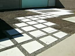 interlocking patio tiles over grass patio outdoor decoration