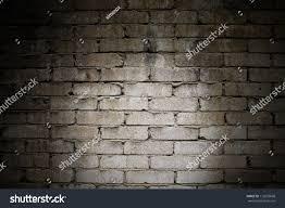 horror background dark old brick wall stock photo 112635668
