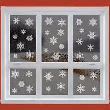 Christmas Window Decorations Ireland by Christmas Window Stickers Home Decor Ebay