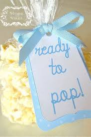 popular baby shower ready to pop and easy popcorn favors for a baby shower