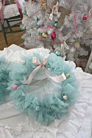 Decorate Christmas Tree With Tulle by Best 25 Tulle Christmas Trees Ideas On Pinterest Tabletop
